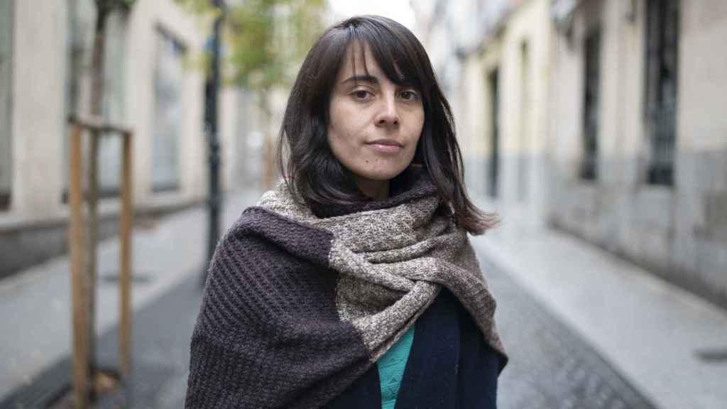 Angela Santiago,  portavoz de Fridays for Future Chile, este diciembre en Madrid.