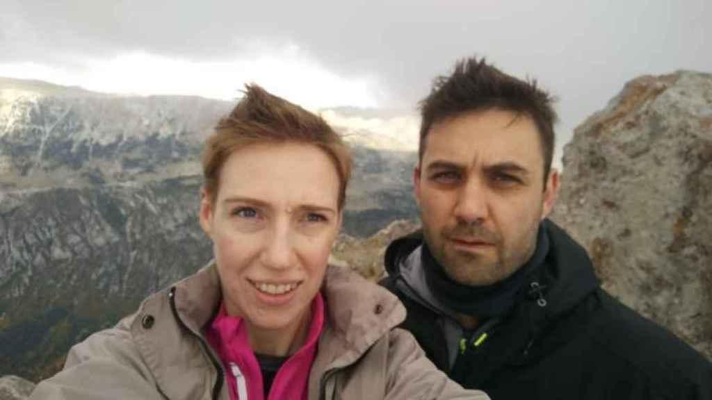 Audrey Marsh y su marido Rohan Schoeman.