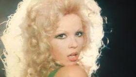 La cantante Rosa Morena en 1973.