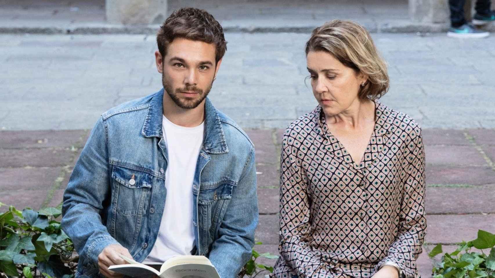 Carlos Cuevas y María Pujalte en Merlí: Sapere Saude.