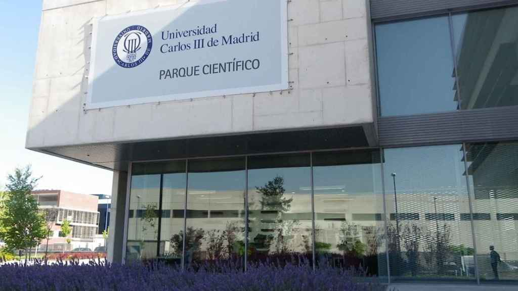 El Parque Científico y Tecnológico de la UC3M en Leganés.