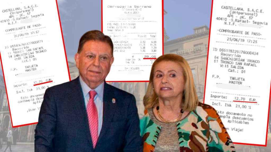 El Rey le invitó a Madrid y el alcalde de Oviedo cargó los gastos de su mujer a las arcas municipales
