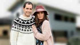 Verdeliss y su marido, Aritz, en un montaje de JALEOS.