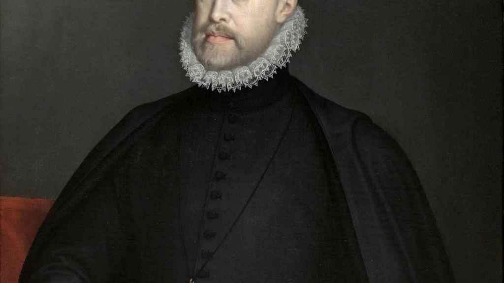 Felipe II. Retrato de Sofonisba Anguissola.