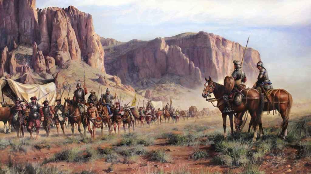 'La expedición de Coronado'.