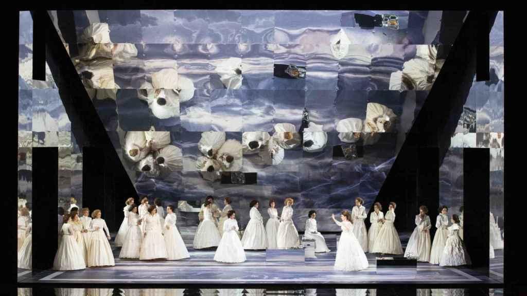 Imagen de la producción de Emilio Sagi para el Teatro alla Scala y el Teatro Real.