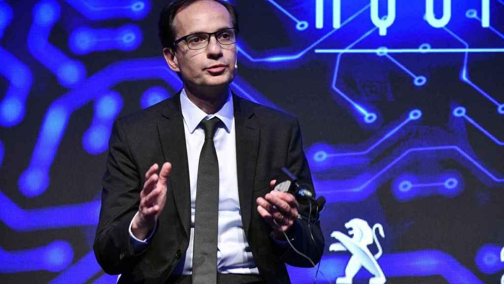 Alexandre Guignard, director de la unidad de negocio de vehículos de bajas emisiones de PSA.
