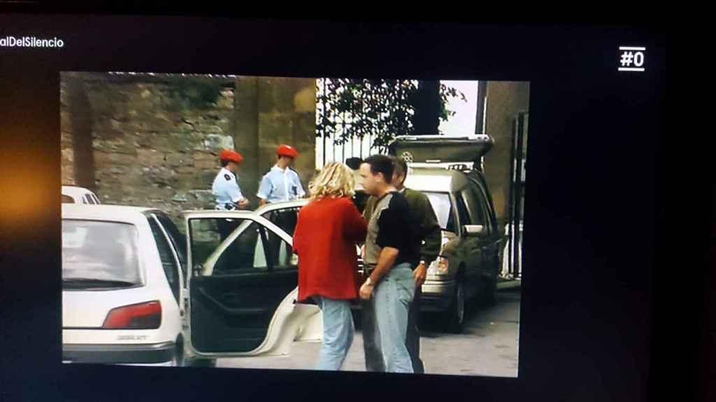 Imagen del documental de Cero de Jon Sistiaga en el que aparece el agente.