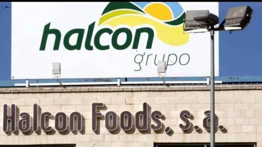 Fachada de Halcón Foods, compañía que marcó una época dorada en la Región.