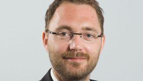 El gestor activista del cambio climático, Thomas Sorensen.