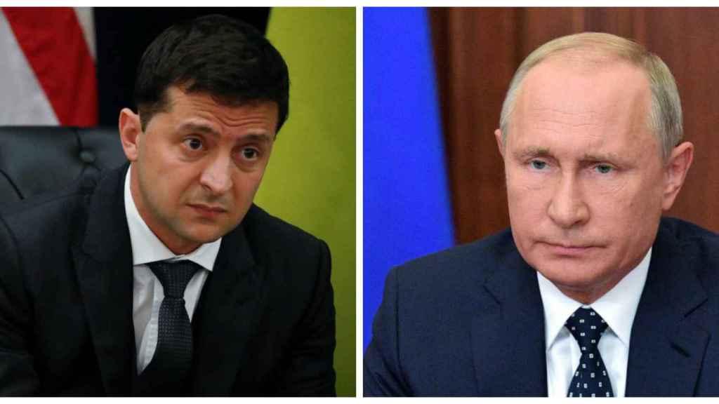 Zelensky y Putin se reunirán este lunes en París