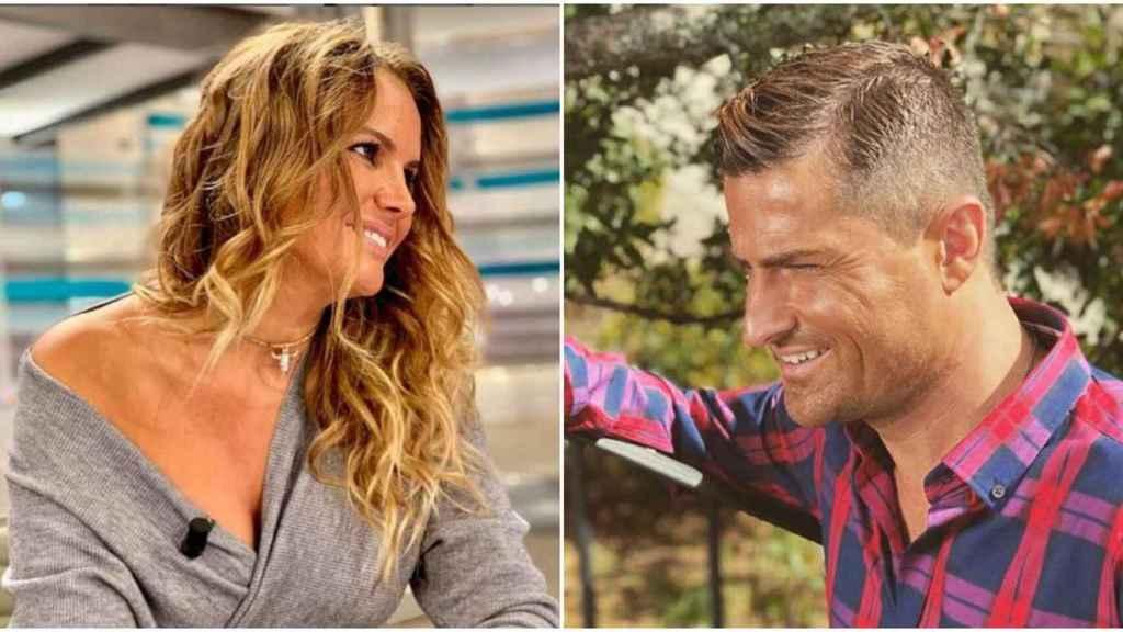 Marta López y Alfonso Merlos son la pareja sorpresa de la televisión.