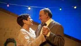 Pep Cortés en una obra de teatro.
