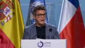 Alejandro Sanz interviene en el plenario de la COP25.
