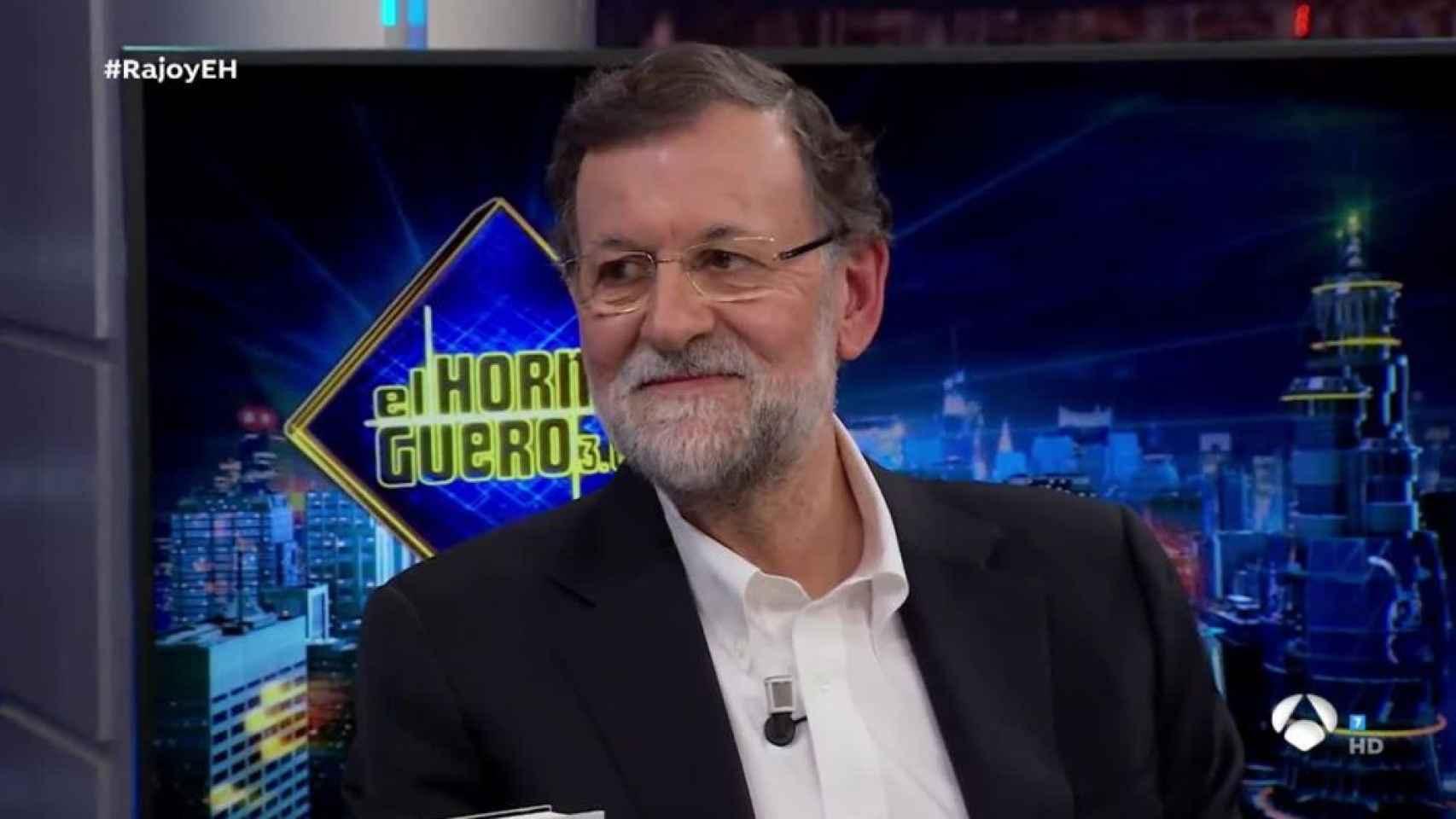 Mariano Rajoy, este martes en 'El Hormiguero'.