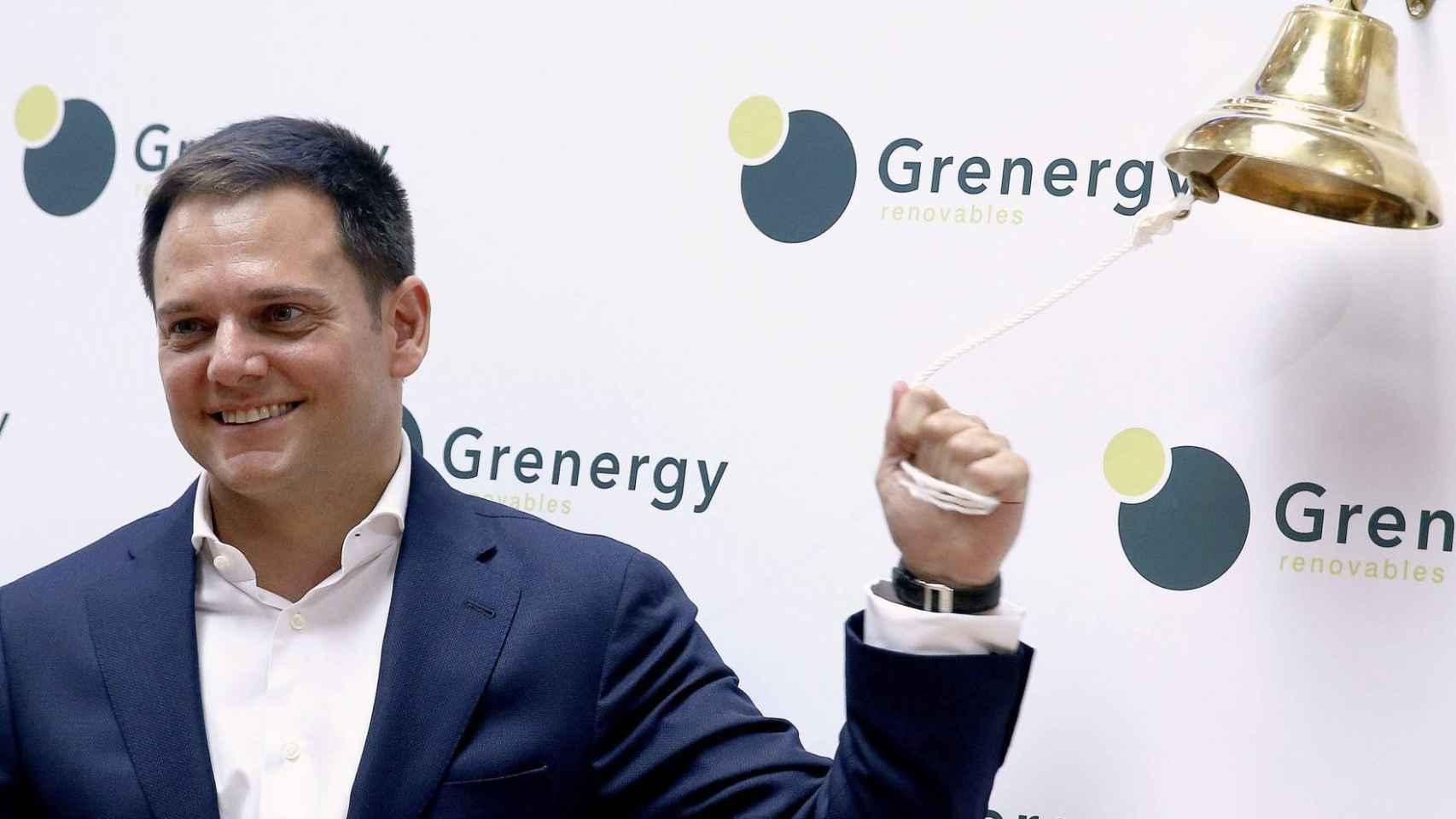 El consejero delegado de Grenergy en su estreno como cotizada.