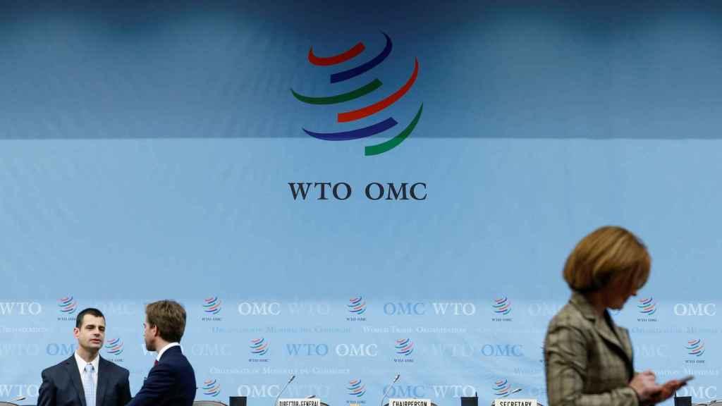 La sede de la Organización Mundial del Comercio en Ginebra.