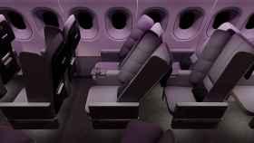 Los primeros asientos para avión que permiten dormir en clase turista