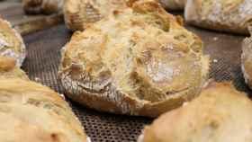 Panes elaborados con masa madre, siguiendo la antigua tradición.
