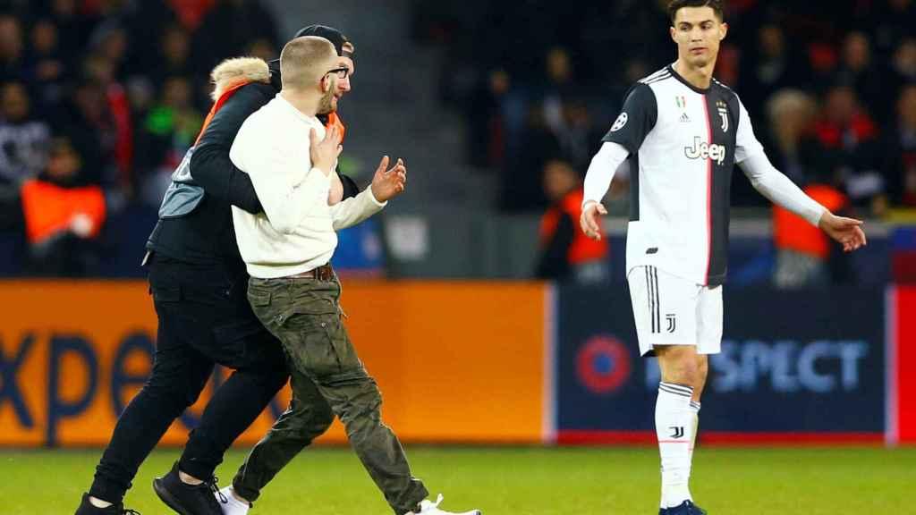 Espontáneo en el Leverkusen - Juventus