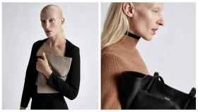 Montaje de JALEOS con algunas modelos de Zara.