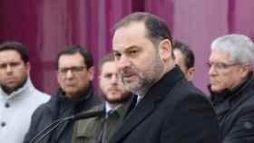 José Luis Ábalos, este miércoles en Villaseca de la Sagra