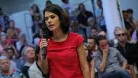 La diputada de Unidas Podemos en la Asamblea de Madrid, Isa Serra