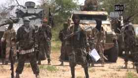 Milicianos de Boko Haram.