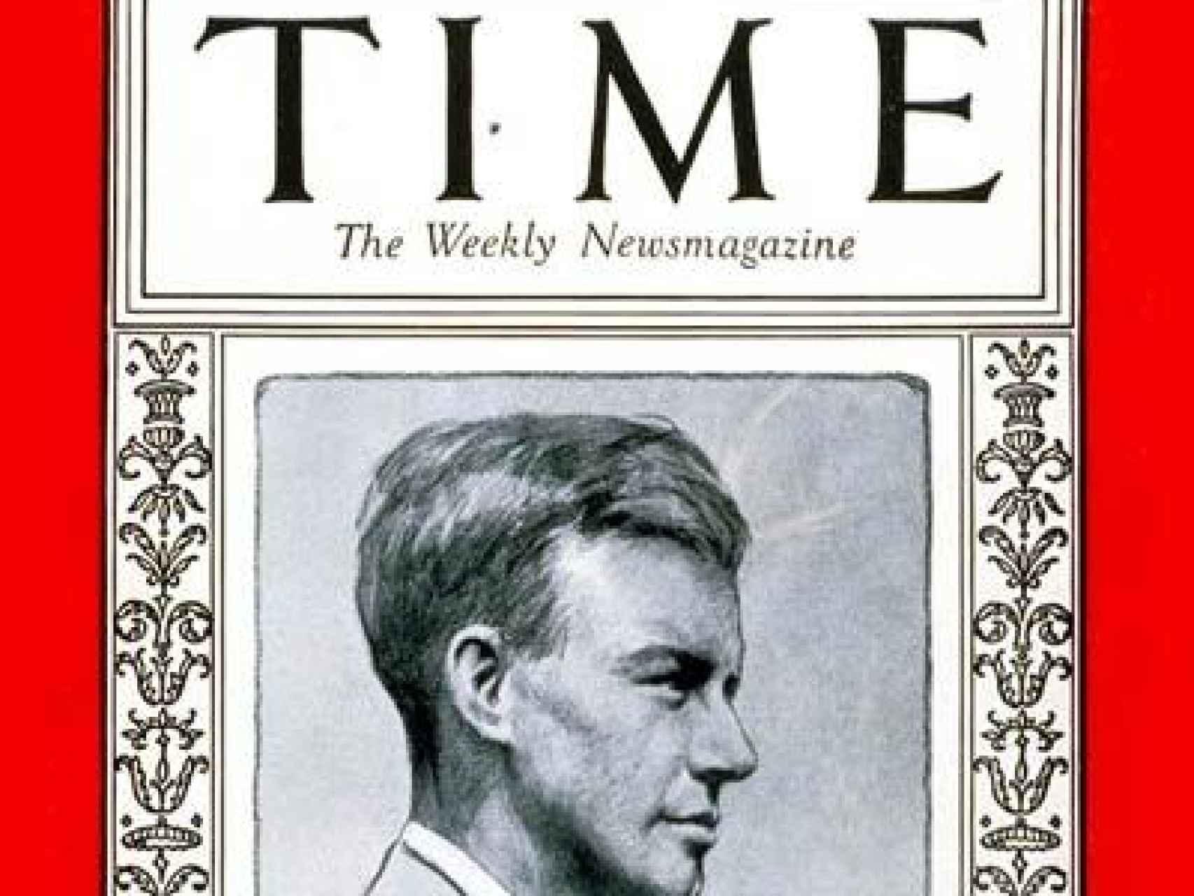 Charles Lindbergh. 1927.