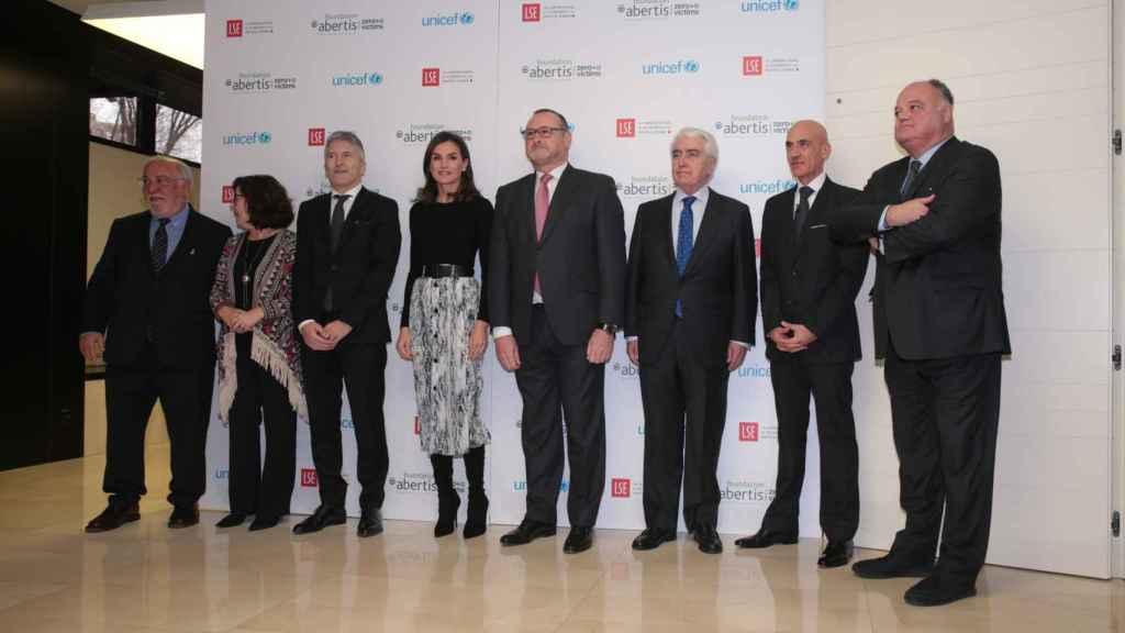 El acto fue presentado por la Fundación Albertis.