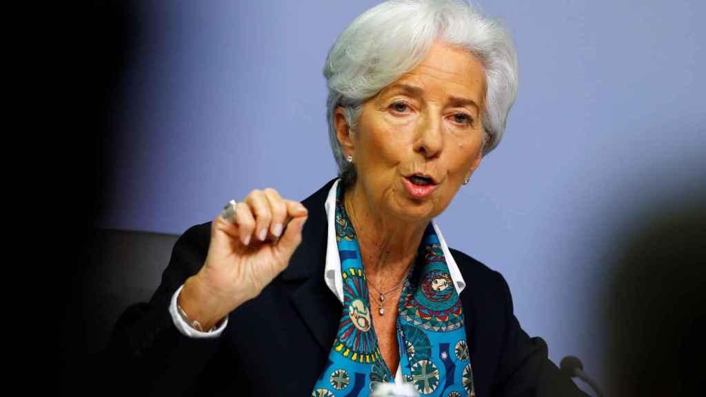 La presidenta del BCE, Christine Lagarde, sale al rescate de la eurozona