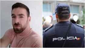 Dani y José Manuel le propinaron una fuerte paliza al policía en su día de descanso.
