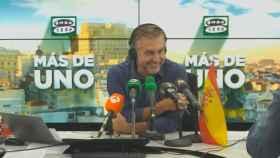 Carlos Alsina, durante la emisión de 'Más de Uno', en una imagen de archivo.