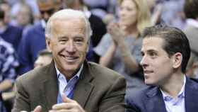 Joe y Hunter Biden.