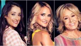 Las finalistas de 'GH VIP 7' en un montaje de JALEOS.