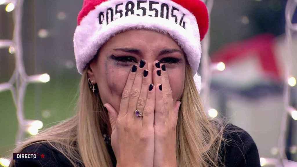 Alba Carillo estuvo a punto de abandonar el concurso.