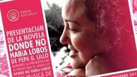 Pepa G. Lillo presenta su novela Donde no había lobos en Toledo