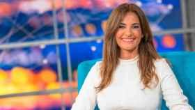 Mariló Montero, en el plató de su nuevo programa en Canal Sur.