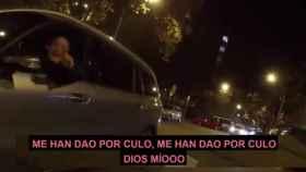 El conductor que protagonizó la delirante escena grabada por el tuitero