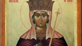 Santa Adela.