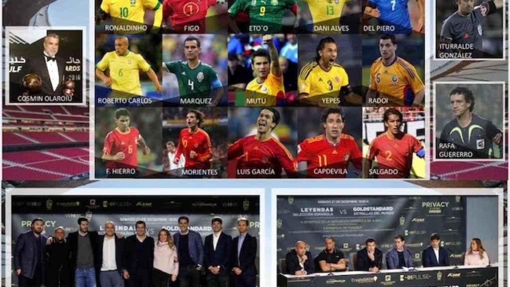 Vente con EL ESPAÑOL a ver a las Leyendas del Fútbol Mundial