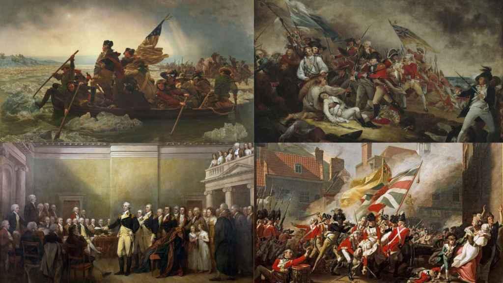 Guerra de Independencia de los Estados Unidos.