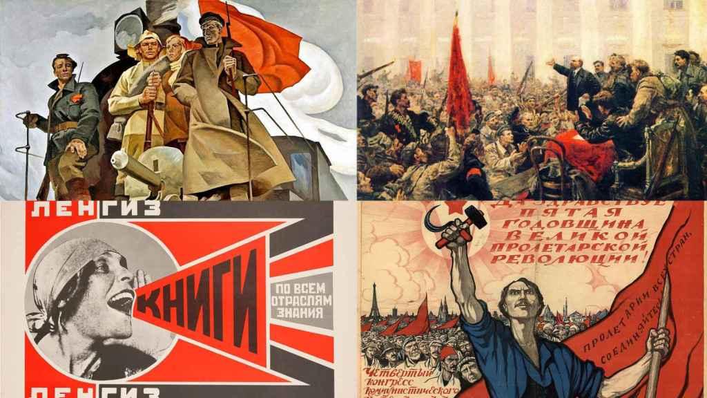 Revolución soviética.
