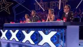 Los miembros del jurado en la última semifinal (Telecinco)