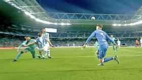 El posible penalti sobre Piqué