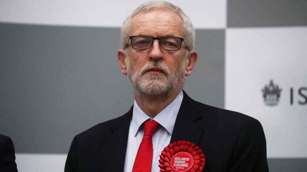 Jeremy Corbyn en una imagen de archivo.