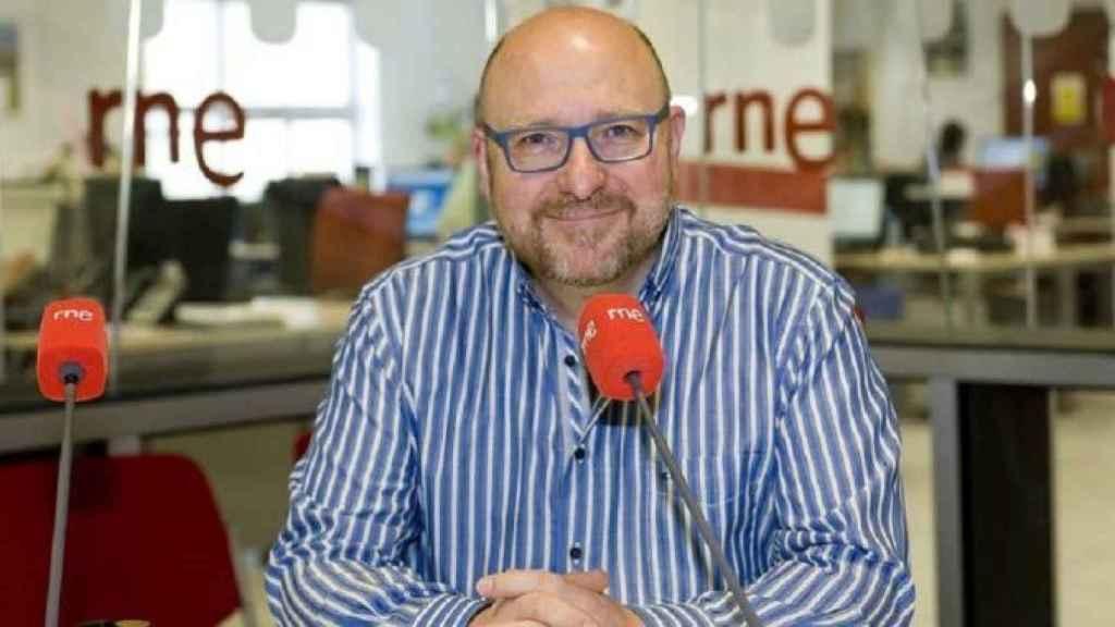 El presentador radiofónico Javier Capitán.