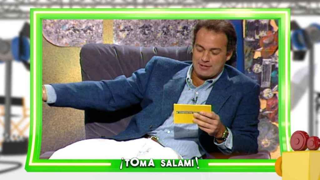 Bertín Osborne en el programa '¡Toma salami!'