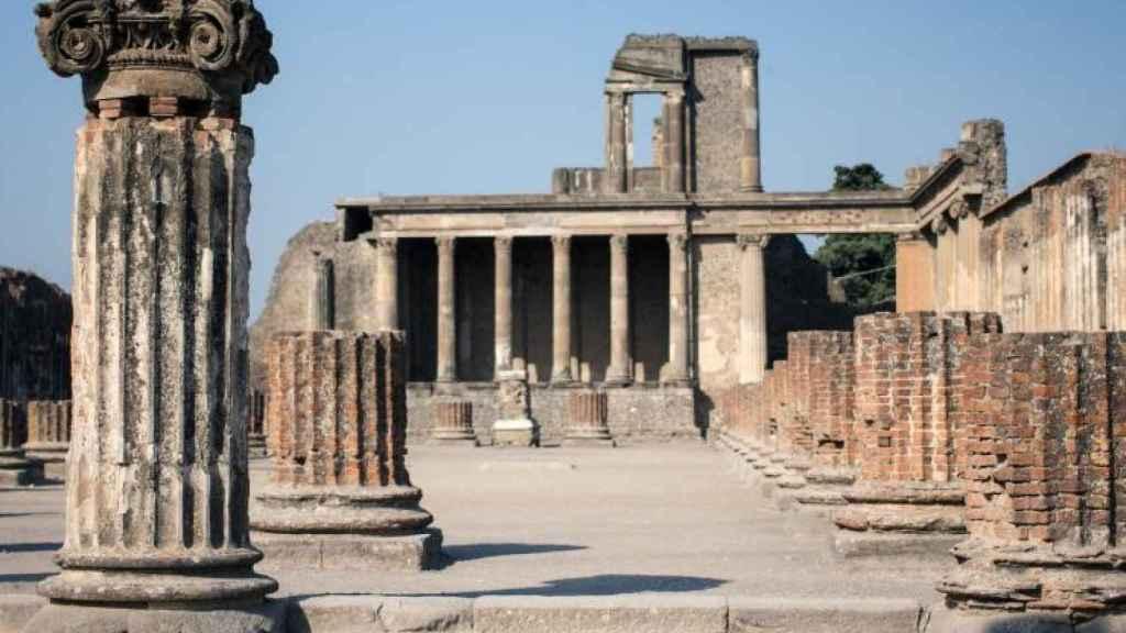 Ruinas de Pompeya.