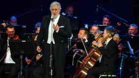 Plácido Domingo, durante su actuación en la Scala de Milán.